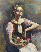 Hofer, Karl - Blumenmädchen (Flower Girl)
