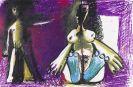Pablo Picasso - Jeune garçon et femme assise