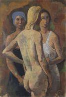 Karl Hofer - Drei Frauen