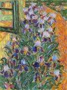 Erich Heckel - Blaue Iris