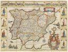 Pieter Verbiest - Nova Carte Del Muy Podroso Reyno d'Espania (Landkarte)