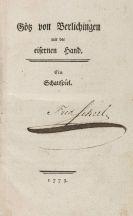 Johann Wolfgang von Goethe - Götz von Berlichingen