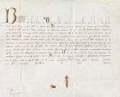 Bonifatius VIII. - Bulle auf Pergament