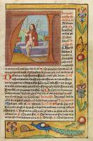 Manuskripte - Gebetbuch auf Pergament. Ende des 15. Jhs