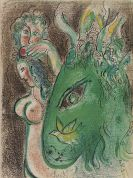 Marc Chagall - Drawings for the bible