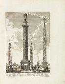 Barbault, Jean - Denkmäler des Alten Roms. - Angeb: Sayer, Ruinen und Ueberbleibsel. Zus. 2 Bände