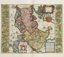 Joan Blaeu - Tweede Stuck der Aerdrycks-Beschryving, 't welck vervat Duytslandt (Grooten Atlas, Bd. 2)