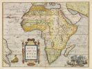 Abraham Ortelius - Africae tabula nova