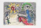 Marc Chagall - 4 Hefte Derrière le miroir, dabei Verve und Chagall Monumental