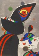 Joan Miró - Gaudi XVII