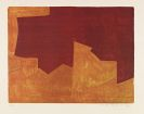 Serge Poliakoff - Composition li-de-vin et orange
