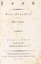 Johann Wolfgang von Goethe - Faust. 2 Bände