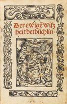 Heinrich Seuse - Der ewige wiszheit betbüchlin