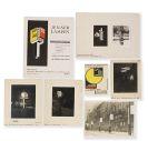 Walter Dexel - 8 Fotografien und Drucksachen für Jenaer Lampen