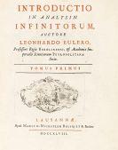 Leonhard Euler - Introductio in analysin infinitorum