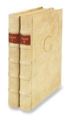 Johann Wolfgang von Goethe - Faust I und II, 2 Bände - Dorfnereinband