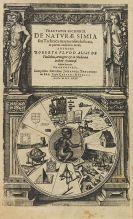Robert Fludd - Tractatus secundus. De naturaa simia