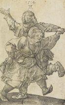 Albrecht Dürer - Tanzendes Bauernpaar