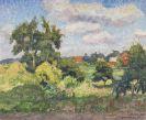 Otto Modersohn - Sommertag in den Feldern bei Fischerhude