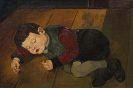Josef Scharl - Schlafendes Kind