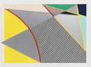 """Roy Lichtenstein - Imperfect 67 5/8"""" x 91 1/2"""""""