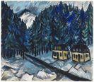 Erich Heckel - Erzgebirgslandschaft im Winter