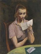 Hofer, Karl - Lesende Frau