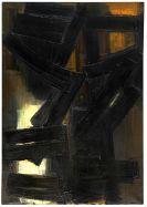 Pierre Soulages - Peinture 92 x 65 cm, 3 août 1954