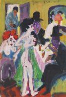 Ernst Ludwig Kirchner - Im Bordell